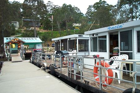 Clyde River Houseboats - Accommodation NSW