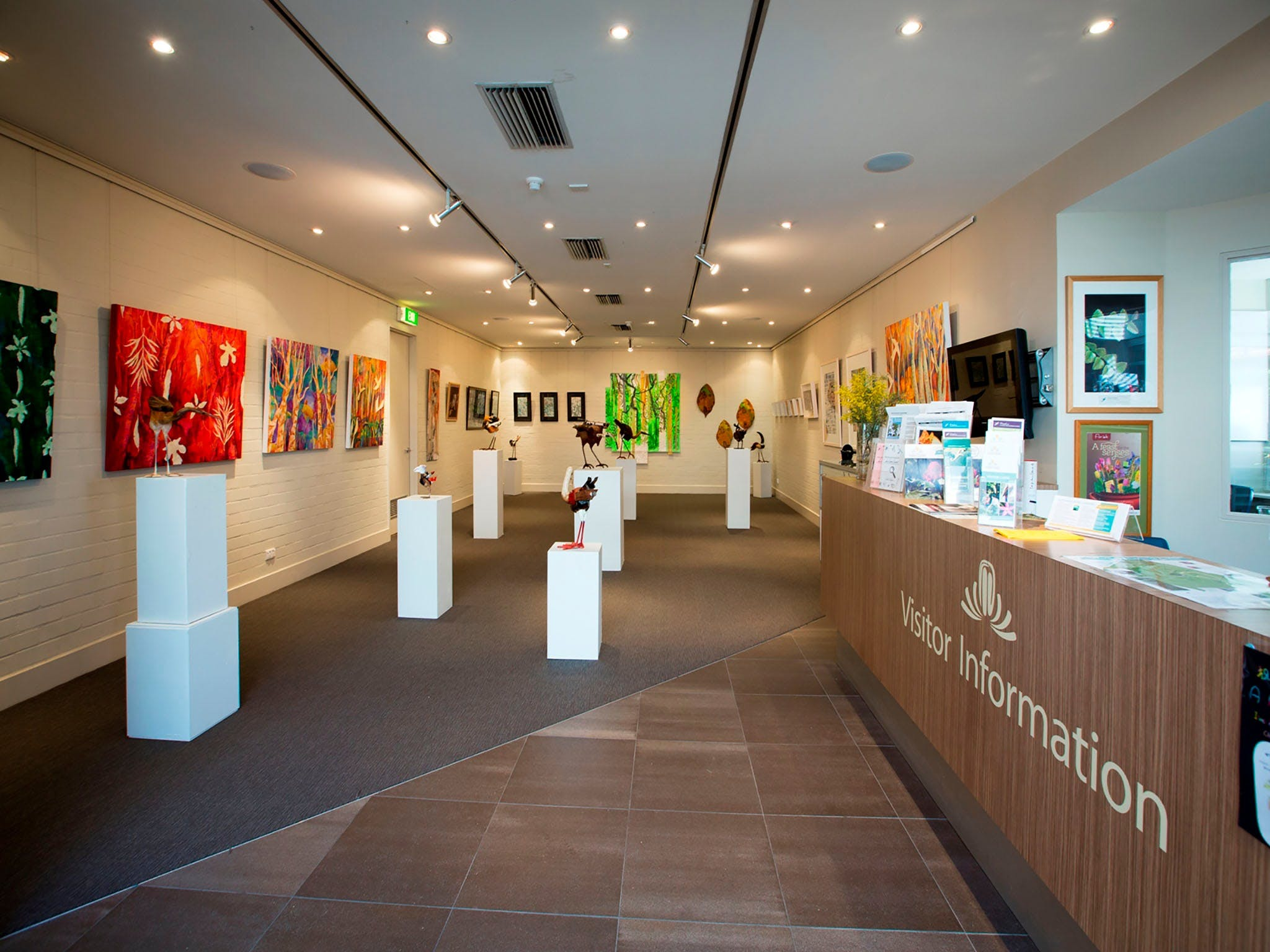 Australian National Botanic Gardens Visitor Centre Gallery - Accommodation NSW