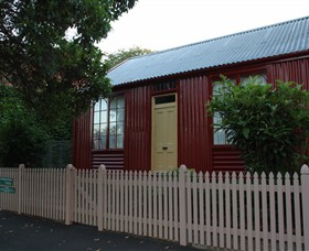 19th Century Portable Iron Houses - Accommodation NSW